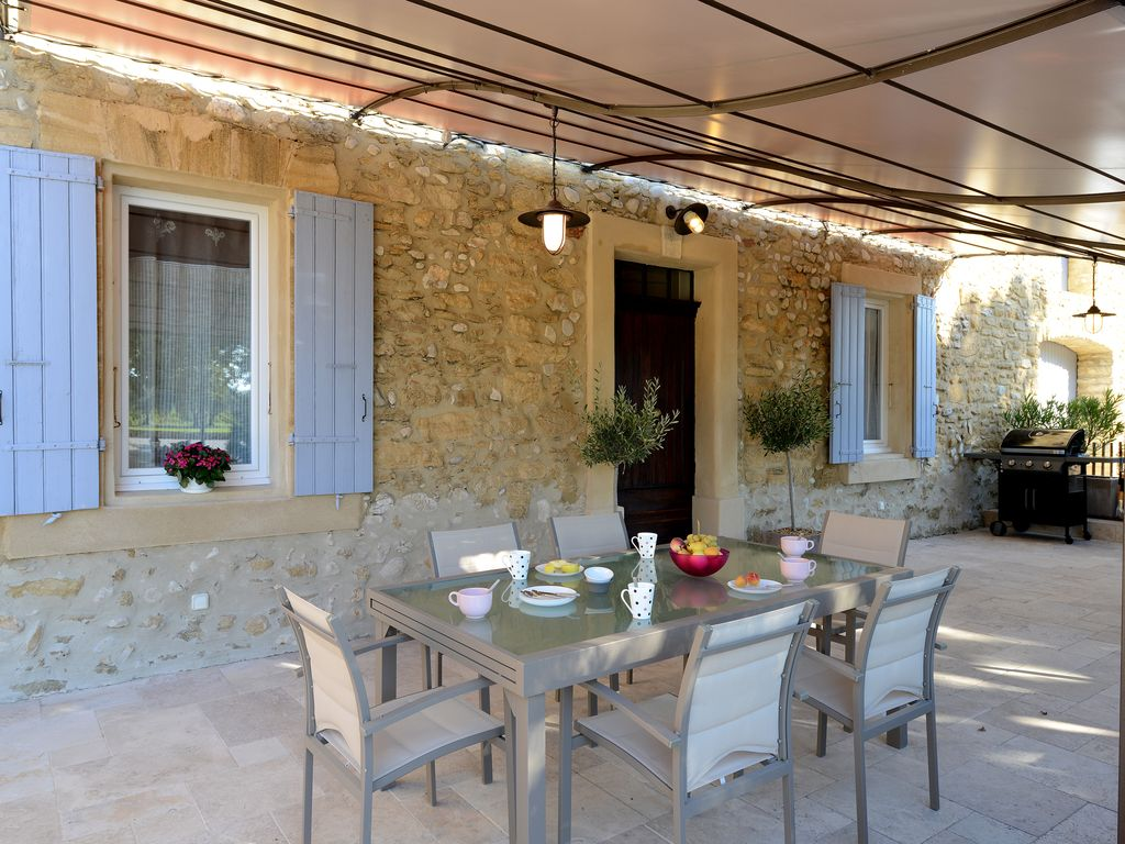 VINEYARDS AND OLIVE TREES BETWEEN ON... - HomeAway Vacqueyras