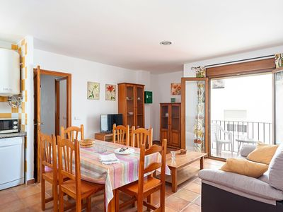Photo for Air-Conditioned Apartment in City Centre Close to Beach with Balcony, Terrace & Wi-Fi