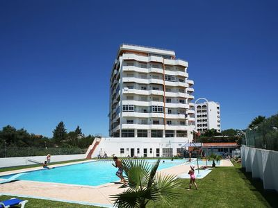 Photo for Apartment with pool 300m from the beaches Portimao algarve