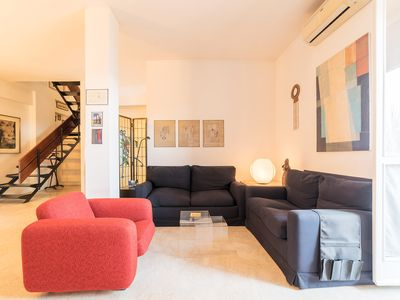 Photo for Two-Storey apartment with wonderful view of Rome