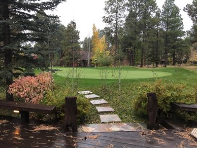 Photo for Great Winter & Summer Getaway in Gated Forest Highlands backing to Putting Green