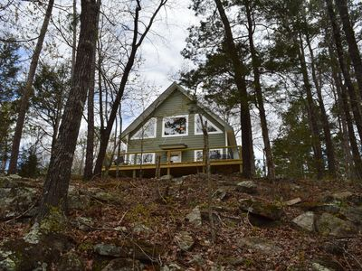 Photo for Adorable NEW house on 17 acres- Our Hillbilly Hideaway!