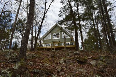 Adorable, Secluded house on 17 acres - Our Hillbilly Hideaway - Mountain  View