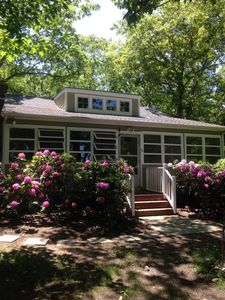 Photo for Hampton Bays Beach Cottage - Walk to Peconic Bay Beach
