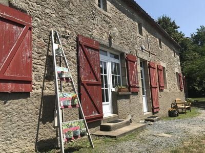 Photo for 1BR Guest House Vacation Rental in Les Epesses