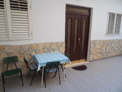 Photo for One bedroom apartment with terrace Makarska