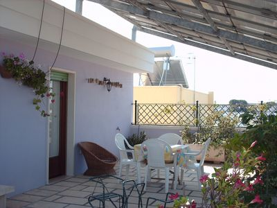 Photo for Studio apartment with two terraces - Attico vicino Gallipoli
