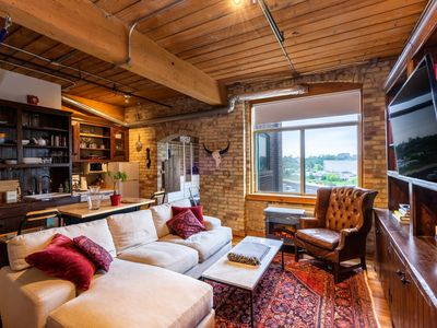 Photo for Rustic 1 Bedroom Loft Apartment in Queen Street West
