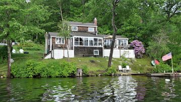 Brilliant Private Lakefront Home 300 On Lake Dock Beach Boat Ramp 40 Miles To Boston Interior Design Ideas Helimdqseriescom