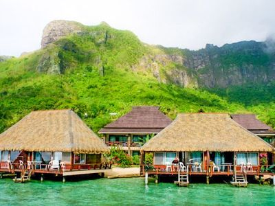 Photo for Romantic Overwater Bungalow on Cooks Bay!