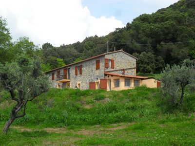 Photo for Stone cottage in Tuscany between sea, nature and art cities