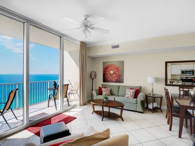 Photo for BeachFRONT☀Flr2Ceiling Views☀2 Step Sanitizing Process☀2BR+Bunks Tidewater 2610
