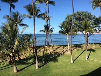 Photo for Beach Front - Beautiful Ocean View And Gorgeous Maui Sunsets