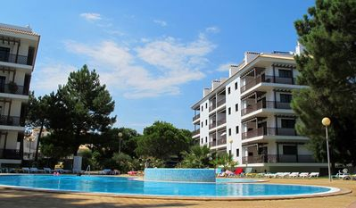 Photo for 2 bedroom apartment condo with pool 500 meters from the beach