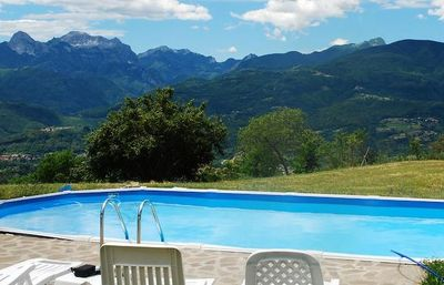 Photo for Holiday Home in Garfagnana private gated pool, WIFI