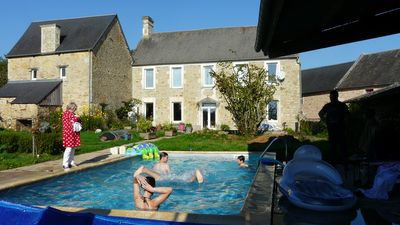 Photo for 6BR Cottage Vacation Rental in Le Locheur, Normandie