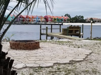 Photo for Bring your BOAT!!  PRIVATE DOCK on the bay at Perdido Key/Theo Baar Bridge ICW
