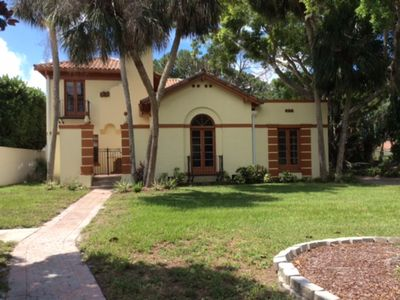 Photo for Classic 1927 mansion in Sapphire Shores near Ringling Mansion with Bay views!