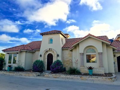 Photo for Luxury Hill Country Villa in Gated Community - Great for Large Groups