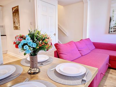 Photo for Abbey House Apt B is 1 Bedroom with Sofa Bed close to Paisley Abbey