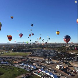 Albuquerque International Balloon Fiesta, Albuquerque, NM, USA