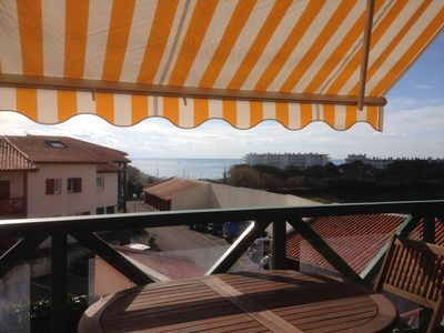 Photo for BIARRITZ, la Milady beach, residence with pool (June / Sept, saturday to saturday)
