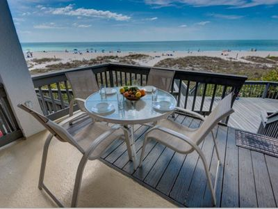 Photo for Gulf Front Condo with April Availability! Hidden Cove 4: 2 BR / 2.5 BA