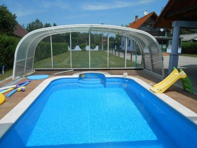 Photo for Holiday house Balatonmáriafürdõ for 1 - 8 persons with 3 bedrooms - Holiday house