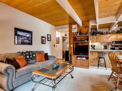 Photo for 20% Off! Wi-Fi, Gas Fireplace, Parking, Guest Shuttle, Pool & Hot Tub Access