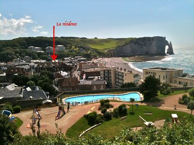 Photo for Charm and ideal location in Etretat à 50 m from the Sea !