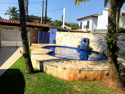 Photo for Single storey house with pool and air conditioning - north coast - Praia de Guaratuba