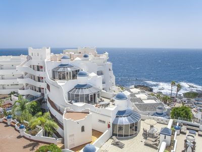 Photo for Tenerife Studio Nestled on the Sun-Drenched Coast, Resort Pool & Spa!!