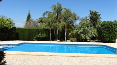 Beautiful 3 bed villa with large pool, air con, wifi.
