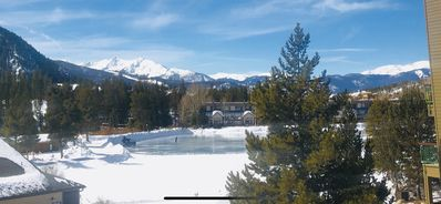 Photo for Beautiful 2/bed Condo in Keystone Lakeside Village. Lovely MTN and lake views.