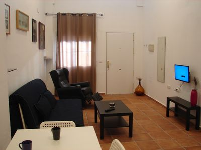 Photo for COMFORTABLE OPEN-PLAN APARTMENT VERY CLOSE TO THE BEACH AND IN THE CITY CENTRE.