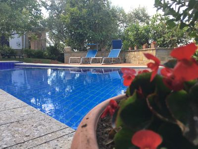 Photo for RELAX in the Cilento, new BILOCALE with POOL in Villa in Castellabate, pure relaxation