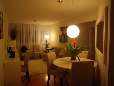 Photo for Beautiful 3 bedroom apartment in the heart of Champagnat with garage