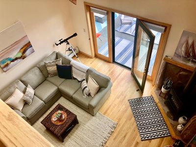 Photo for Beautiful Lower Harbor Condo overlooking Lake Superior