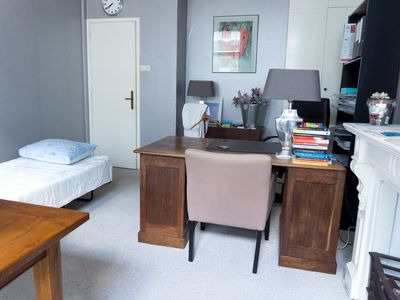 Photo for SPACIOUS FURNISHED ROOM .ONLY FREE THURDAY TILL MONDAY