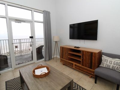 Photo for Windemere 301-Beach View From Terrace with Coastal Interior!