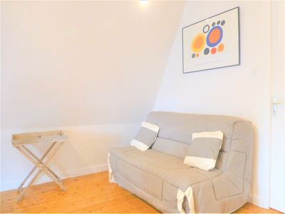Photo for CANCALE apartment 2/4 pers port at 100 m, quiet street - wifi - charges included
