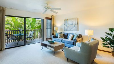 Photo for Modern, Spacious, Immaculate, 1Bed/1Bath Villa, Sleeps 4, in the Heart of Poipu!