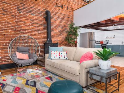Photo for Beautiful loft apartment located right on Main Street