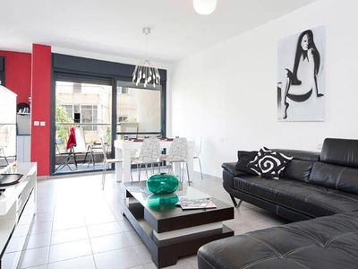 Photo for Exclusive Apartment Gordon to rent in Tel Aviv (Israel) 6 guests