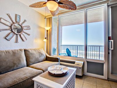 Photo for SUMMER END SALE-OceanFront Unit, Private-Balcony, Great Views, Coastal Furnishings, FREE WIFI/HBO