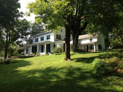 Photo for Gorgeous Hudson Valley Spacious 4 Bedroom 1820's Colonial Farmhouse