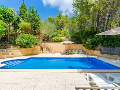 Photo for CAN PERE VELL - Villa with private pool in ANDRATX.
