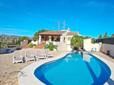 Photo for El Ventorrillo - holiday home with stunning views and private pool in Benissa