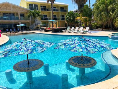 Swim Up Tables and Stools