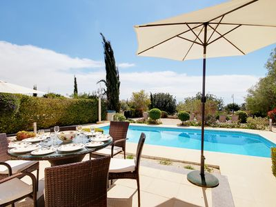 Photo for VILLA ADELAIS, A SUPER 4 BED VILLA WITH HEATED POOL IN GREAT LOCATION!
